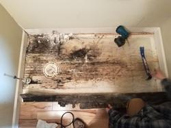 Surface mold damage