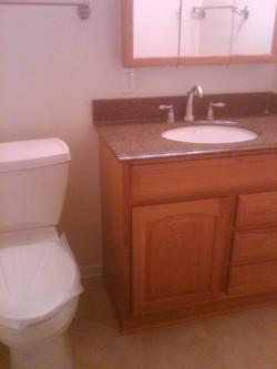 Bathroom Vanities Replaced