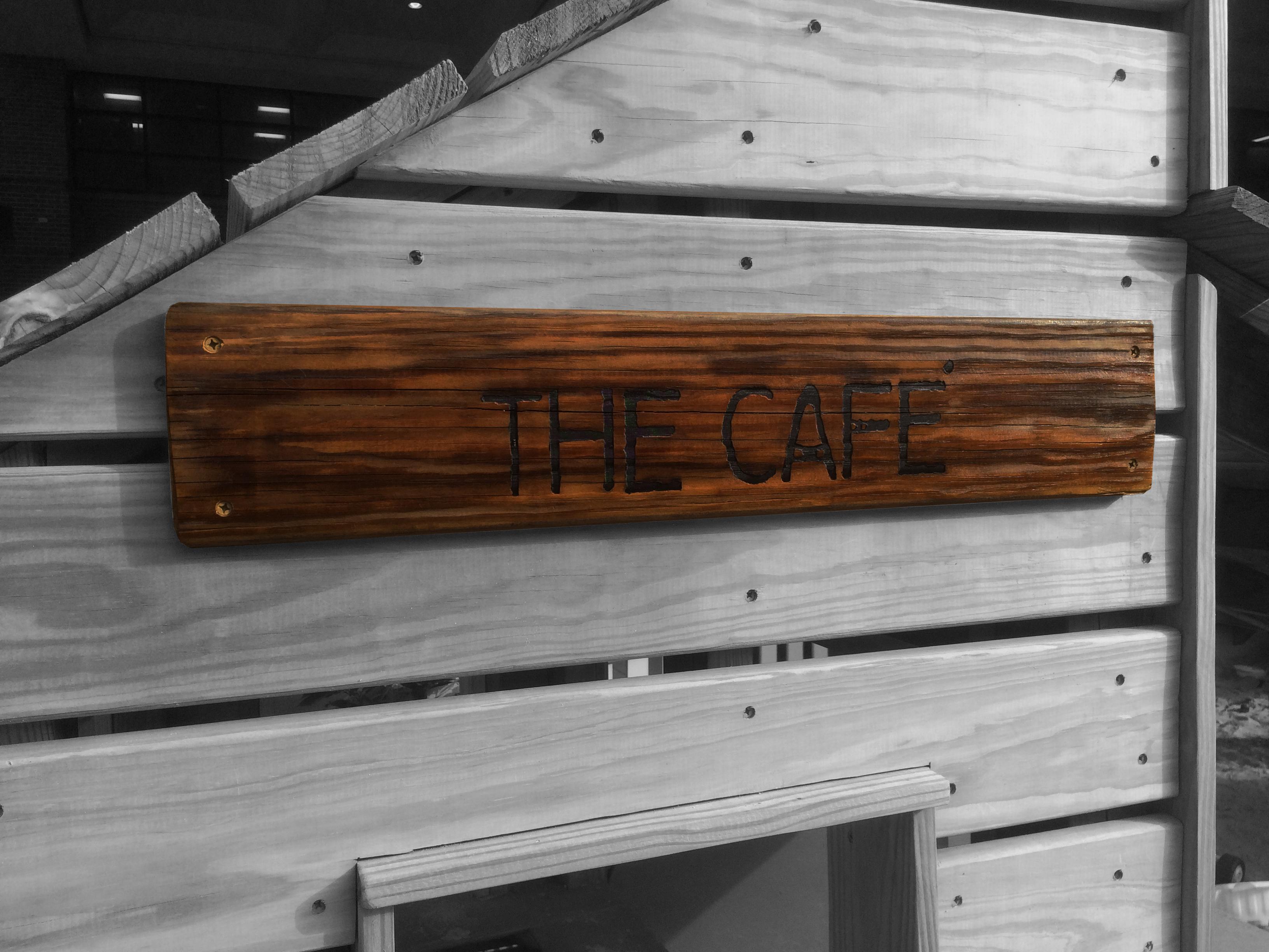 Exterior Signage - The Café