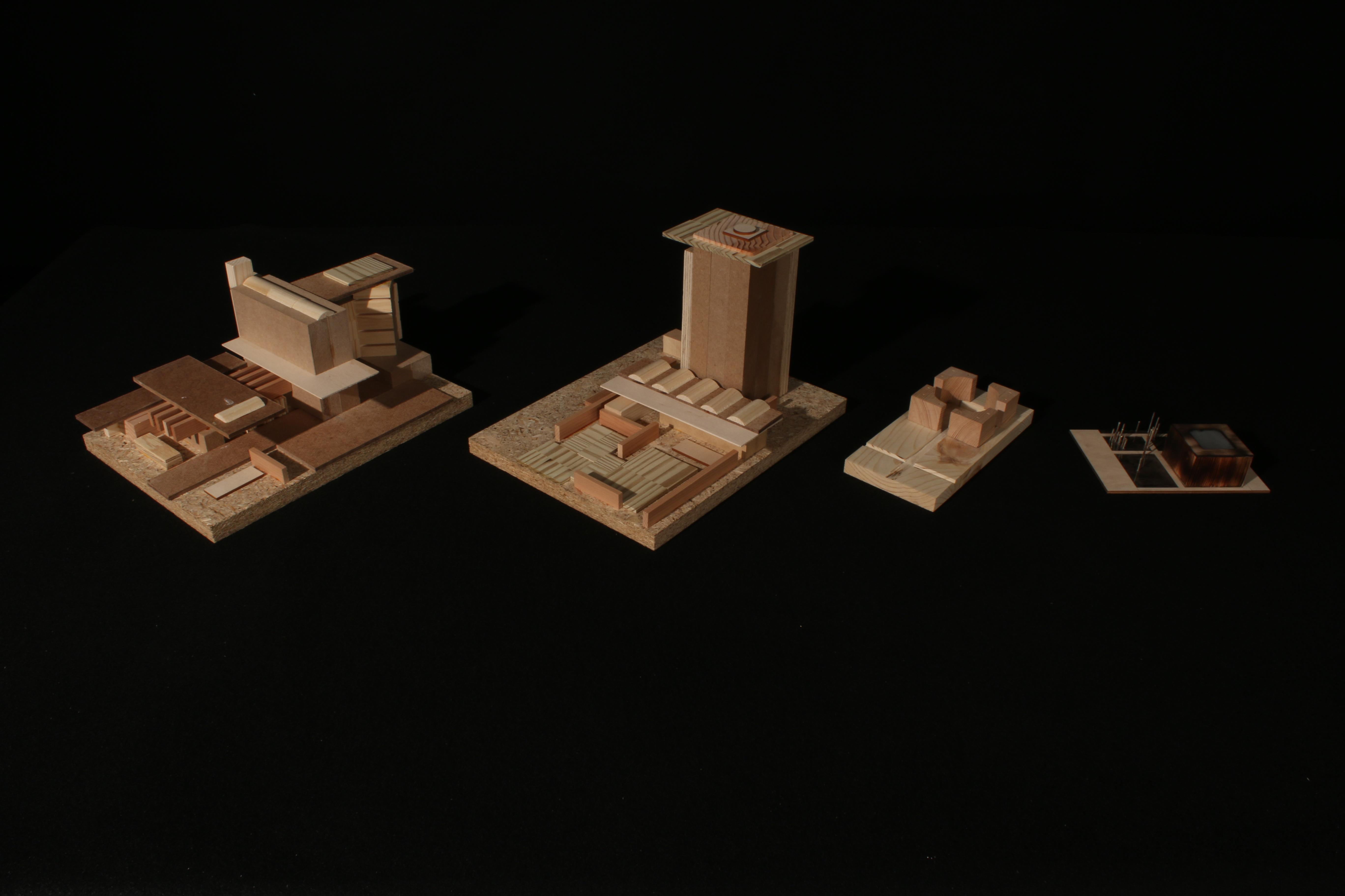 Building Form Model Progression - Daytime