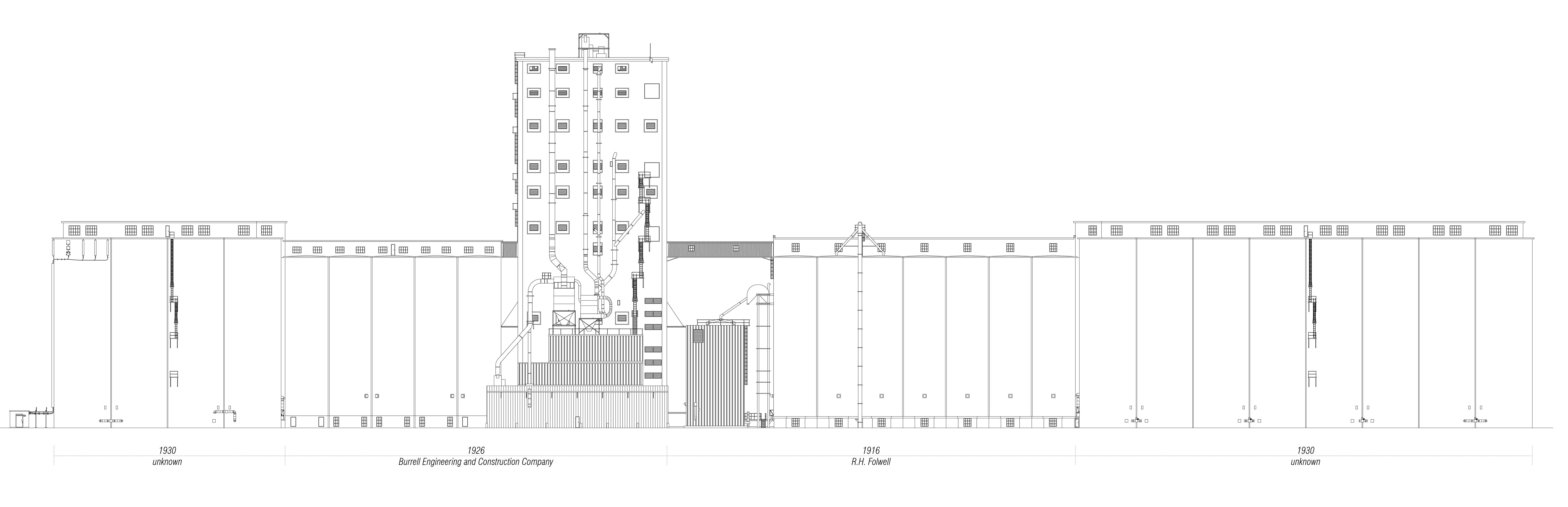 Construction Timeline Elevation