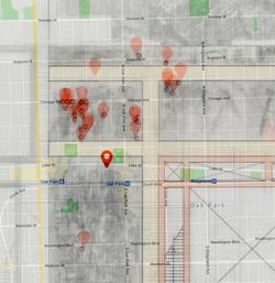 Oak Park Plaza Overlay Map