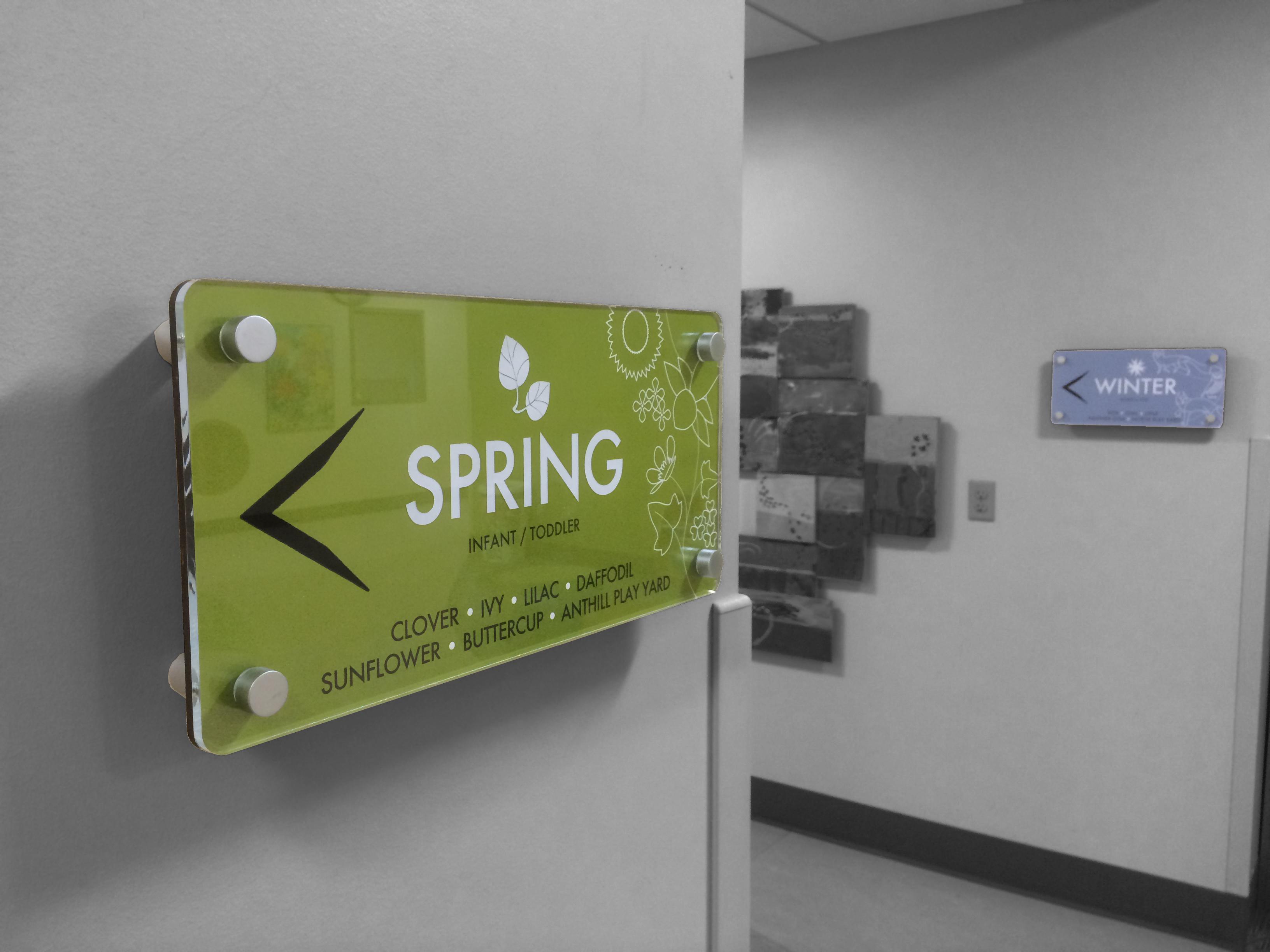 Interior Wayfinding Signage