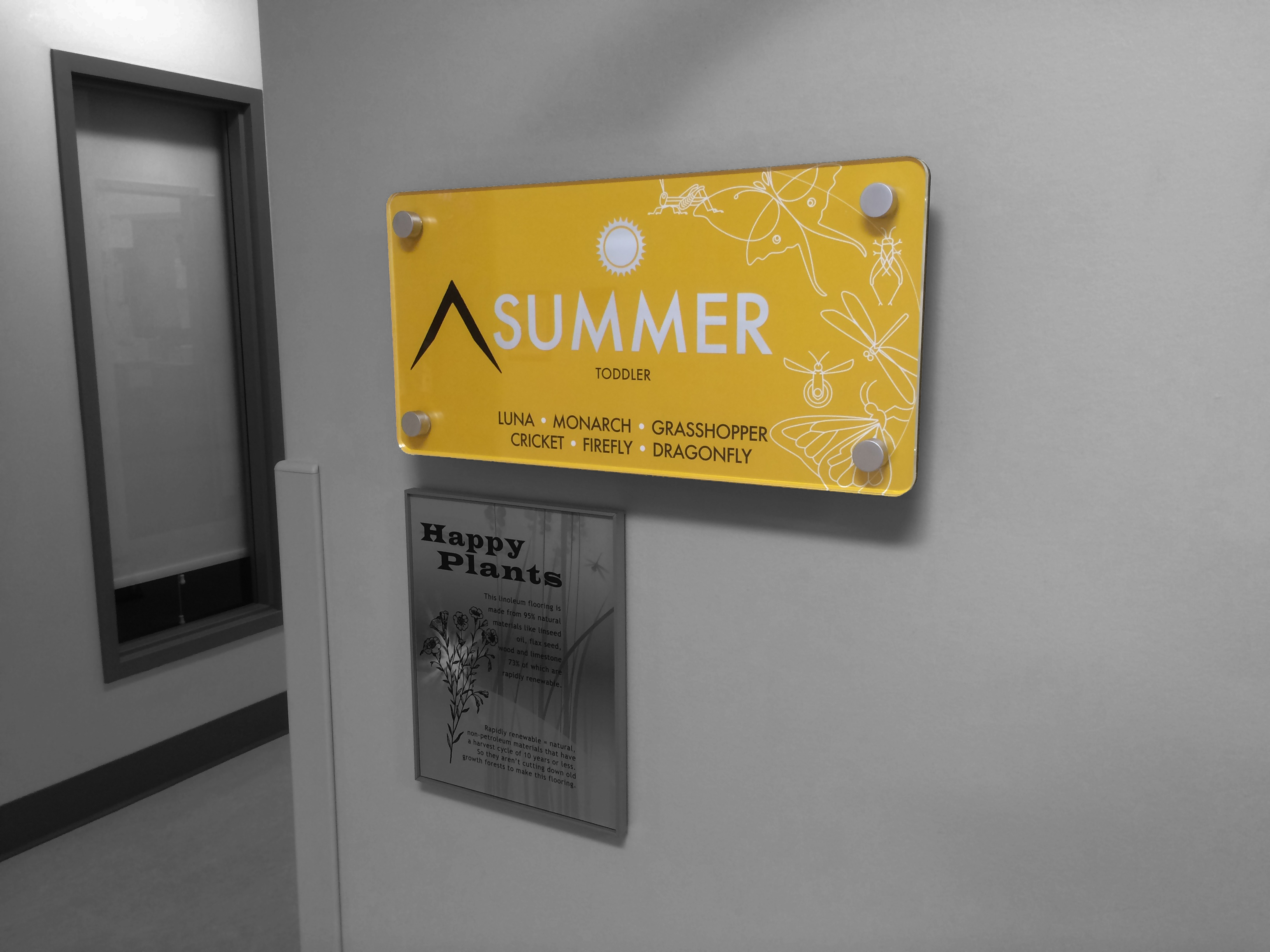 Interior Signage - Summer Wing