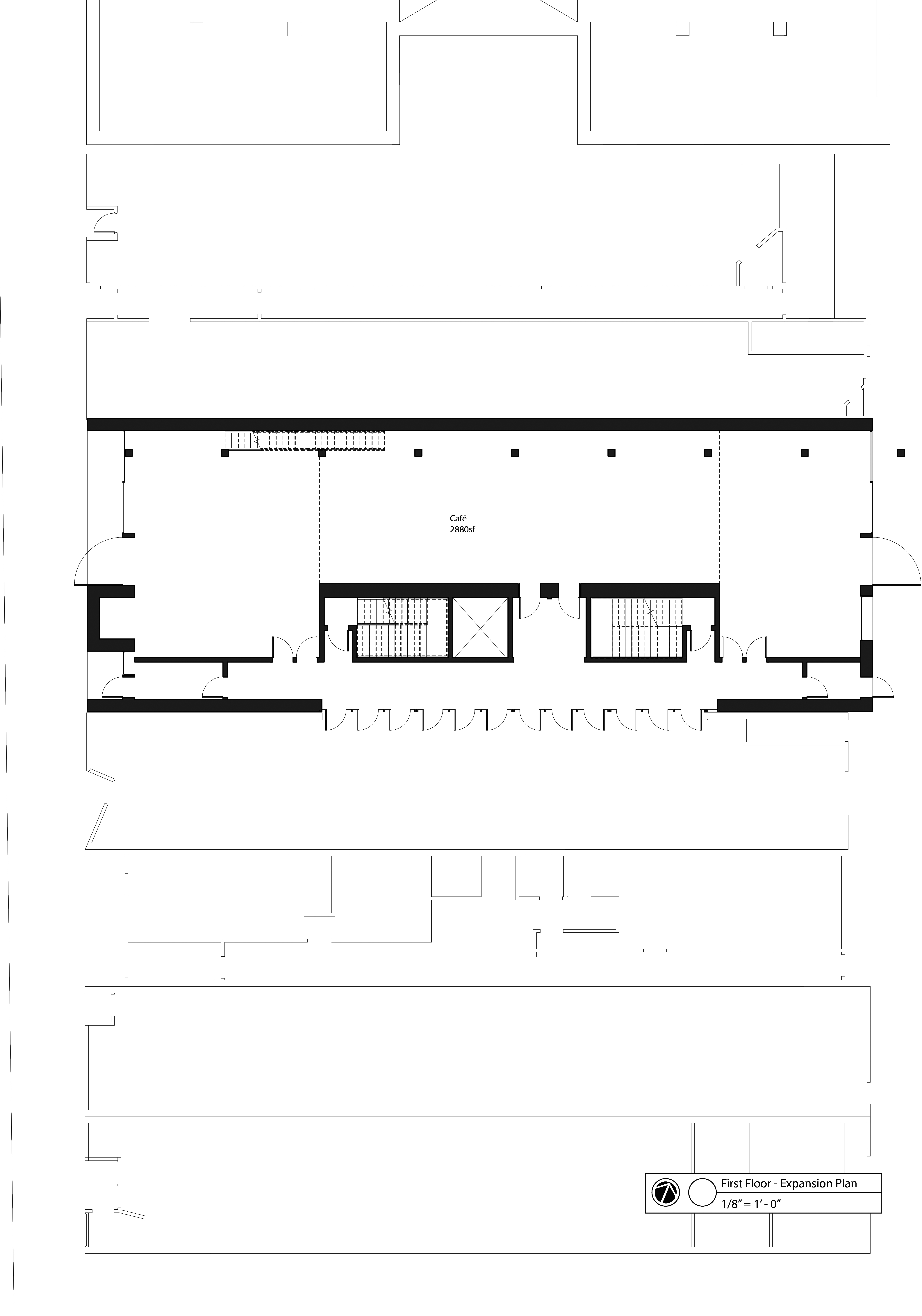 first floor - expansion plan