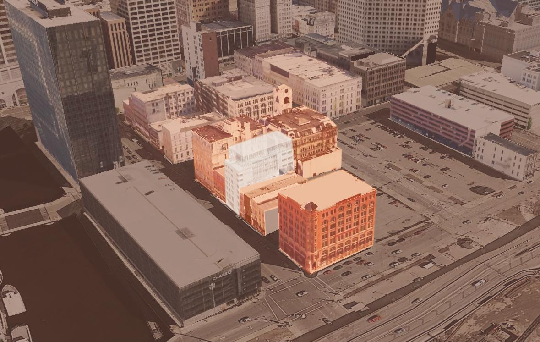 commercial district context