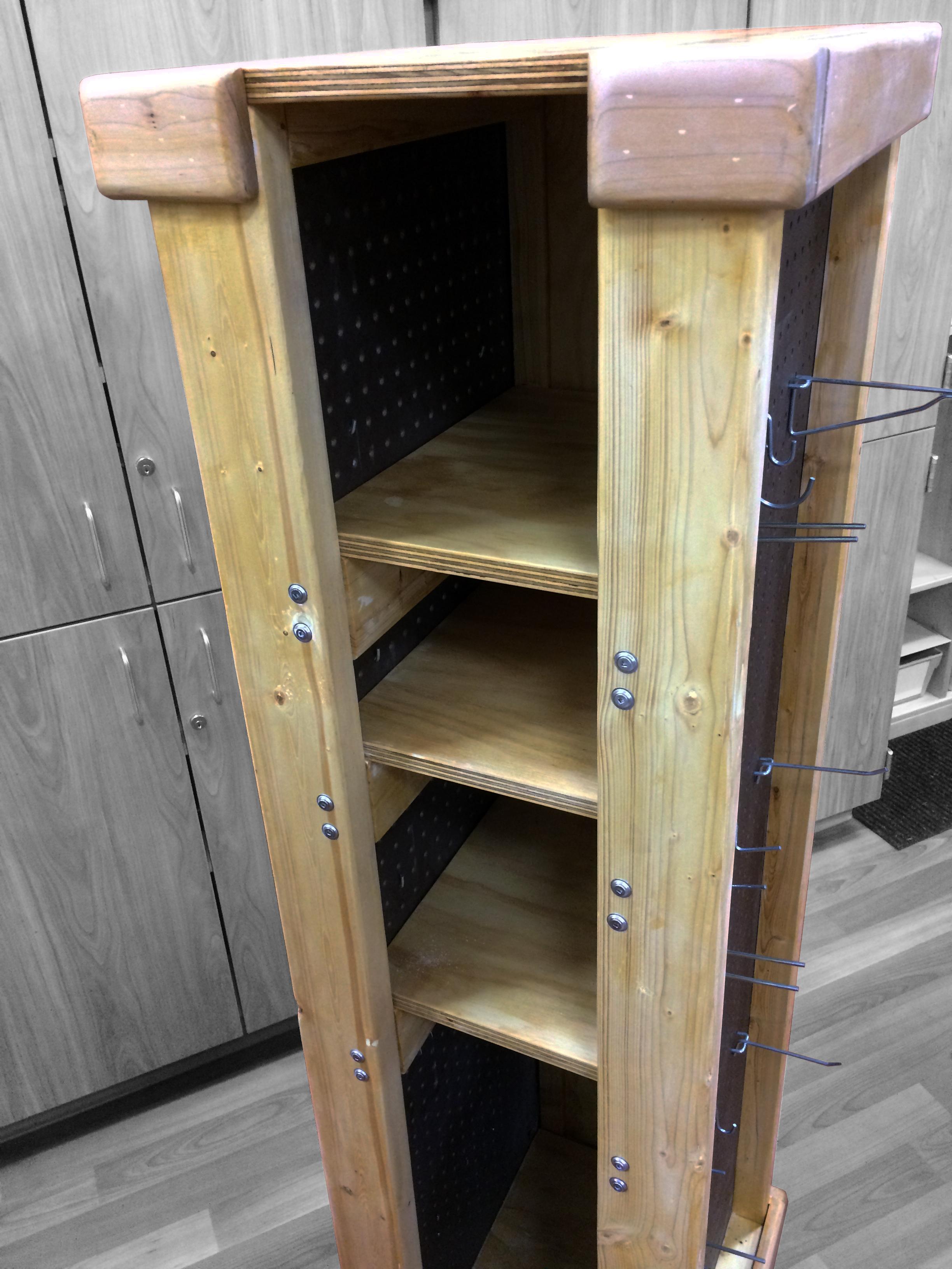 Owl Room Classroom Carpentry Tool Storage