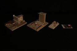 Building Form Model Progression - Nighttime