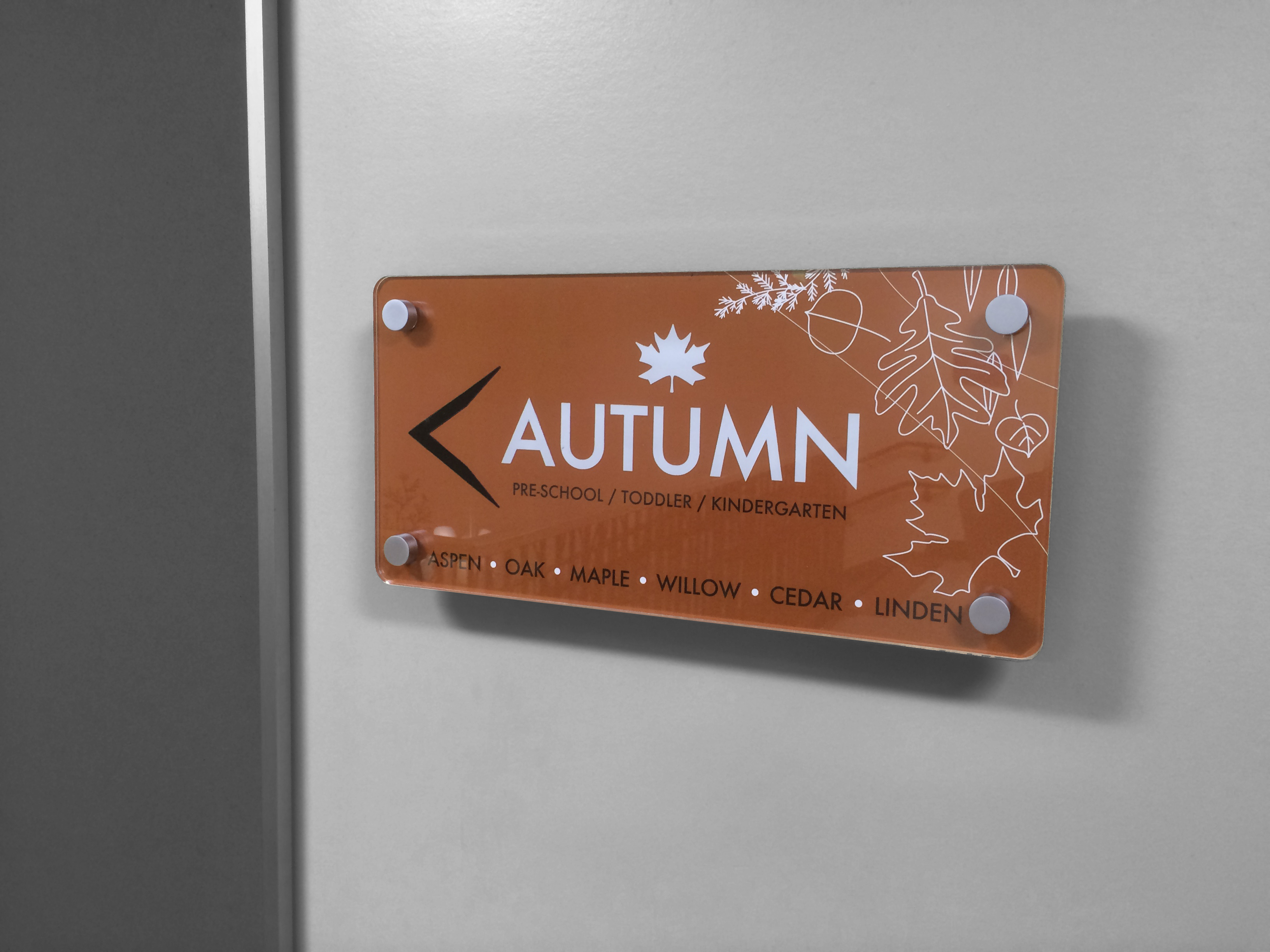 Interior Signage - Autumn Wing