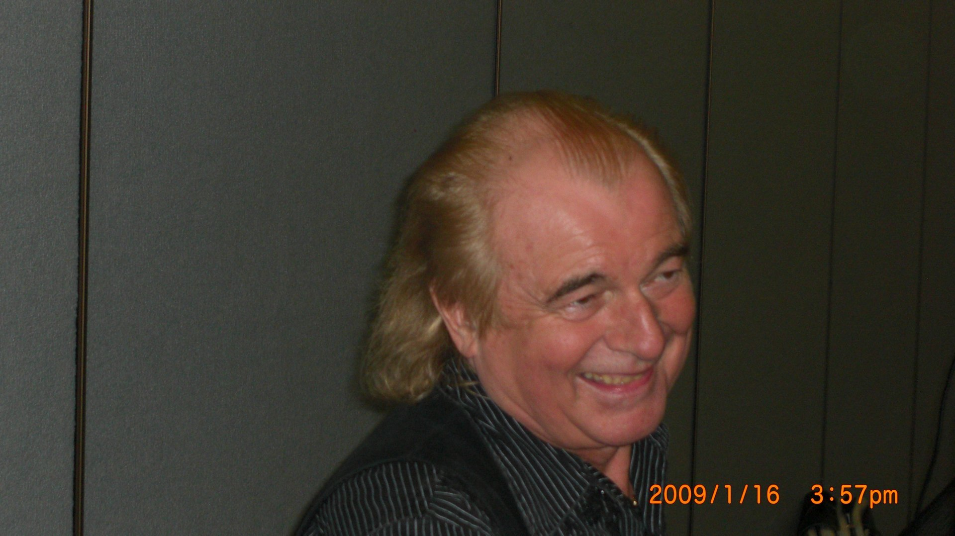 Alan White/Yes NAMM rehearsal 08