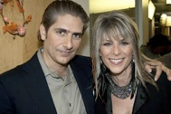 W/Michael Imperioli, on the set of