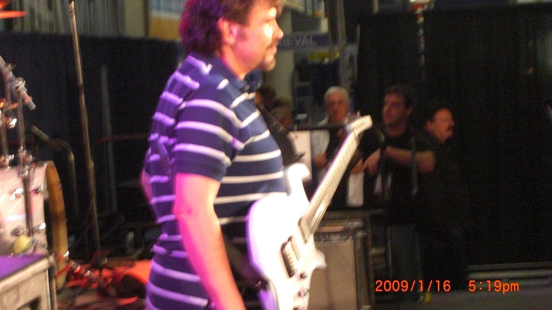 Jeff Cook/Alabama  NAMM JAM 08
