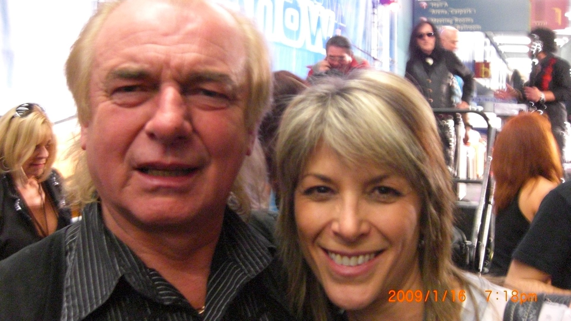 Alan White/YES!  NAMM '08
