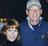 W/David Letterman  Staff X-Mas Par