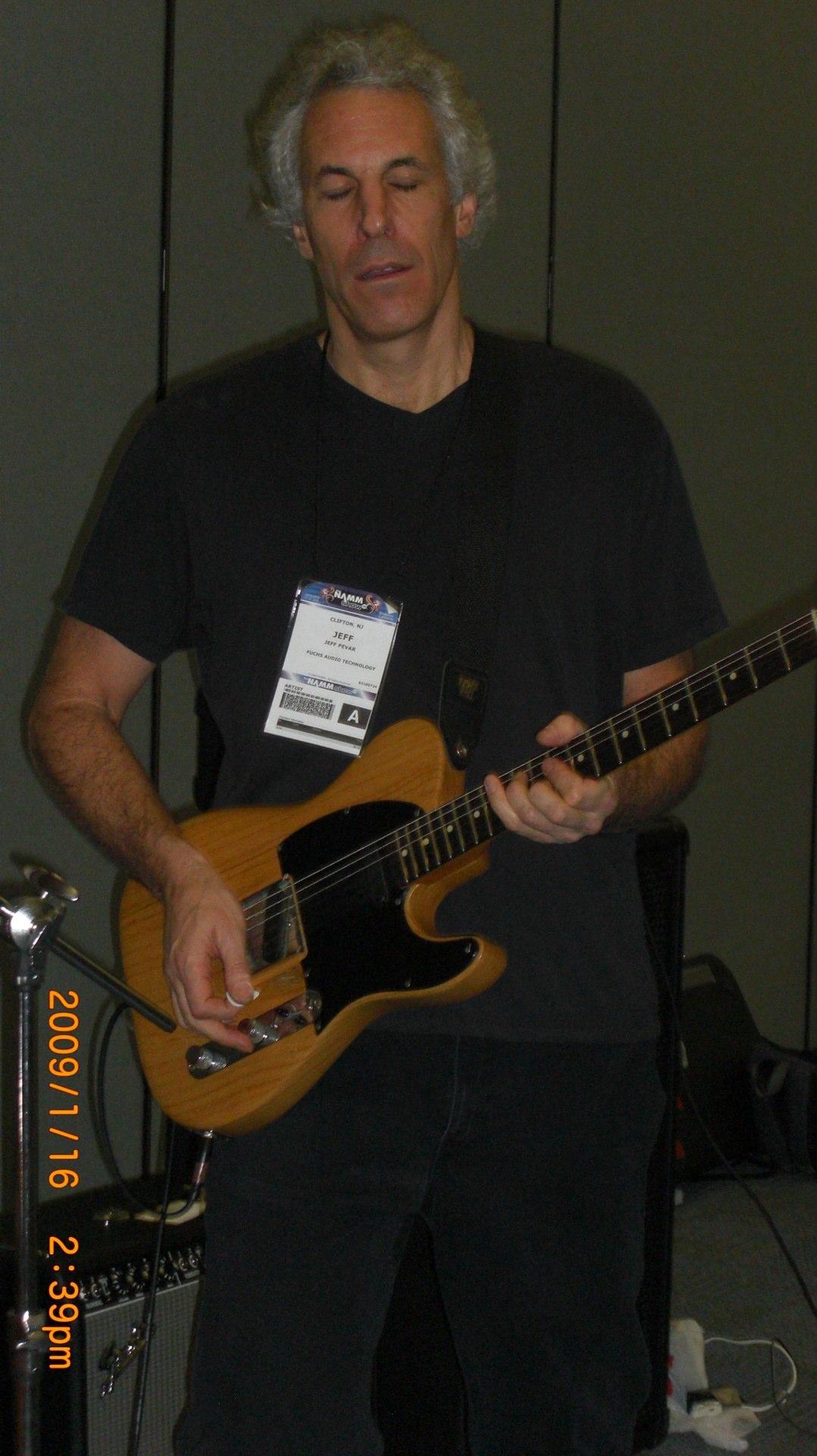 Jeff Pevar NAMM rehearsal 08