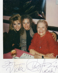 Carole King and Mom