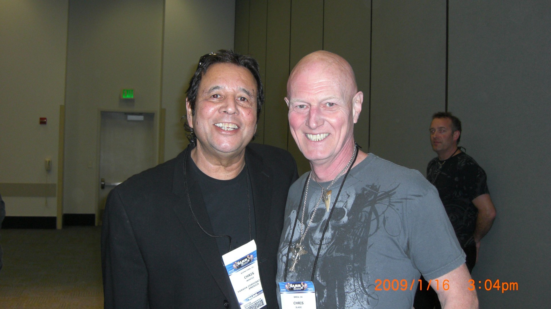 Ray Montez/Chris Slade (AC DC)  Ray