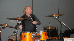 Alan White NAMM rehearsal 08
