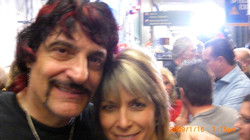 Carmine Appice  in the green room