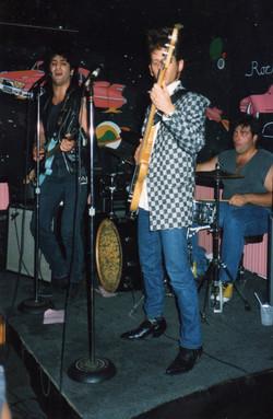 Tommy Byrnes, Lou Appel, Kenny Aaron