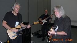 Pevar and Duncun  NAMM rehearsal 08