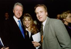 W/President &  Hillary Clinton '00