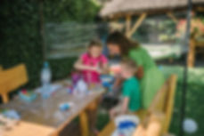 ogródek w restauracji, altana, grill