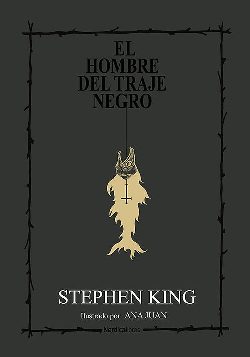 El hombre del traje negro / King y Ana Juan