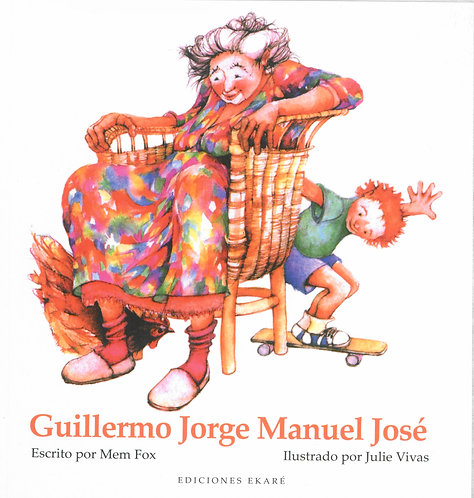 Guillermo Jorge Manuel José (td) / Mem Fox y Julie Vivas