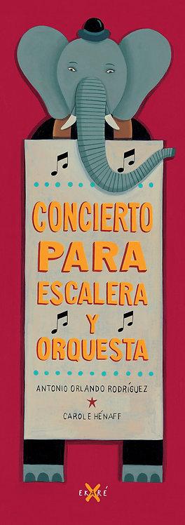 Concierto para escalera y orquesta / Antonio Orlando Rodríguez y Carole Hénaff