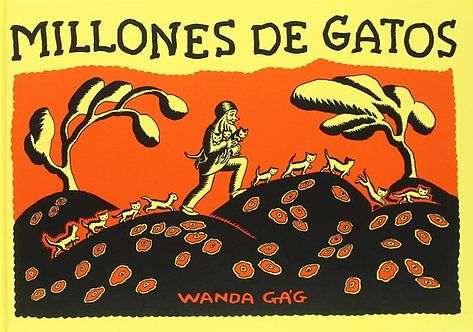 Millones de gatos / Wanda Ga´g