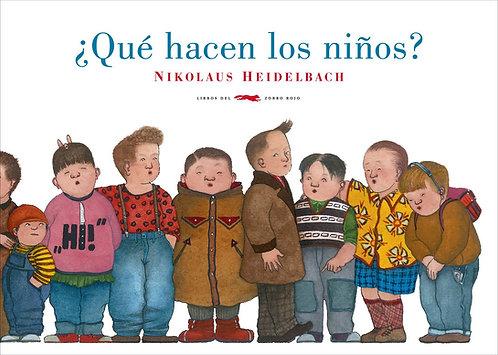 ¿Qué hacen los niños? / Nikolaus Heidelbach