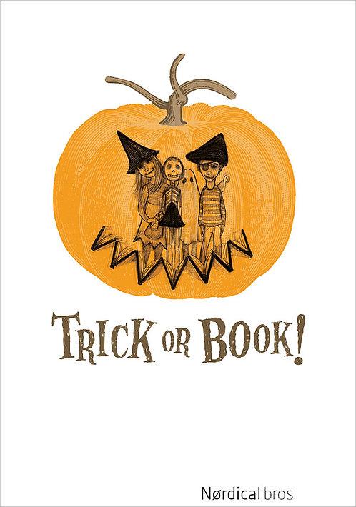 Trick or book! / E. A. Poe / W. Irving / N. Gógol