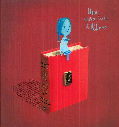 Una niña hecha de libros / Oliver Jeffers y Sam Winston