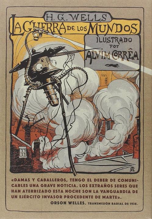 La guerra de los mundos / Herbert George Wells y Alvim Corrêa