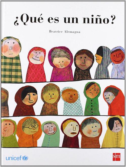 ¿Qué es un niño? / Beatrice Alemagna