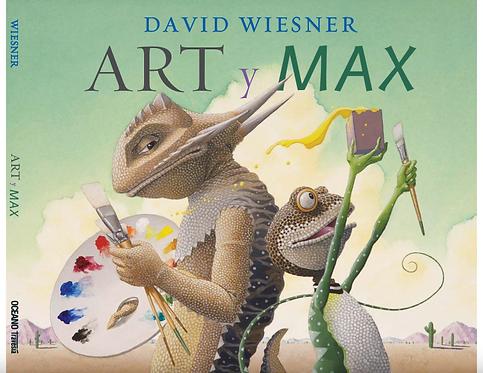 Art y Max / David Wiesner