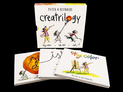 Creatrilogy (colección en inglés) / Peter H. Reynolds