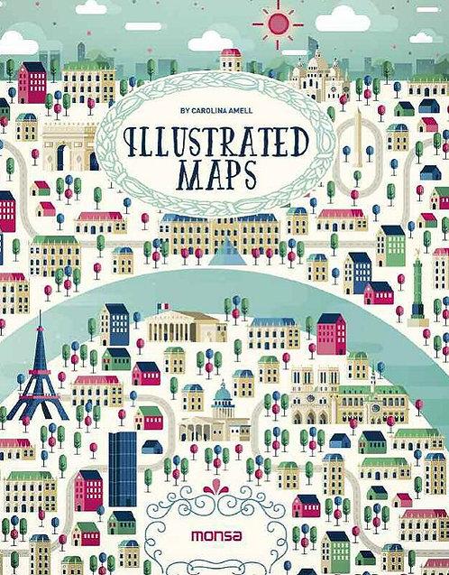 Illustrated maps / Carolina Amell