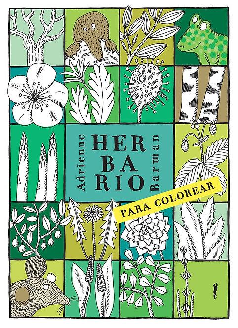 Herbario para colorear / Adrienne Barman