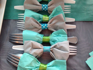 Bow Tie Themed Cutlery!