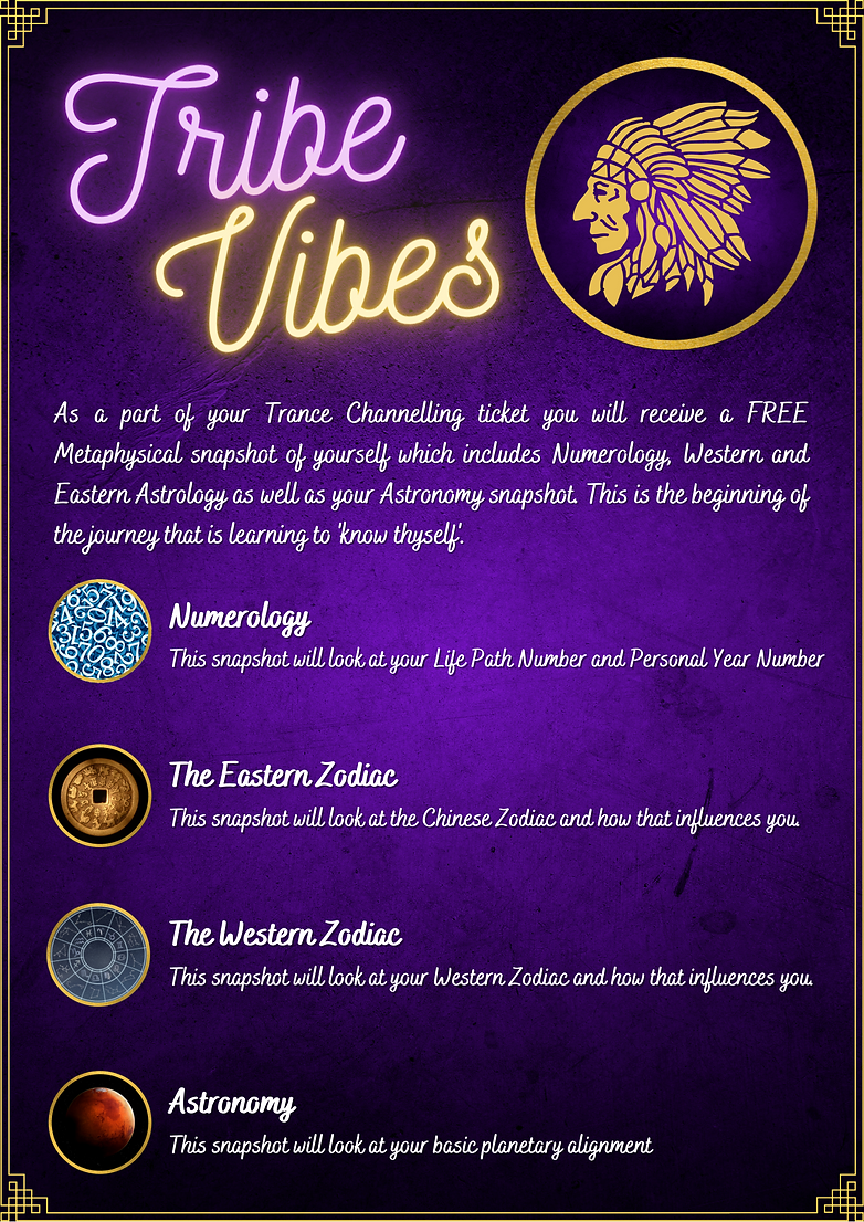 Tribe Vibes - Welcome Letter Official Te