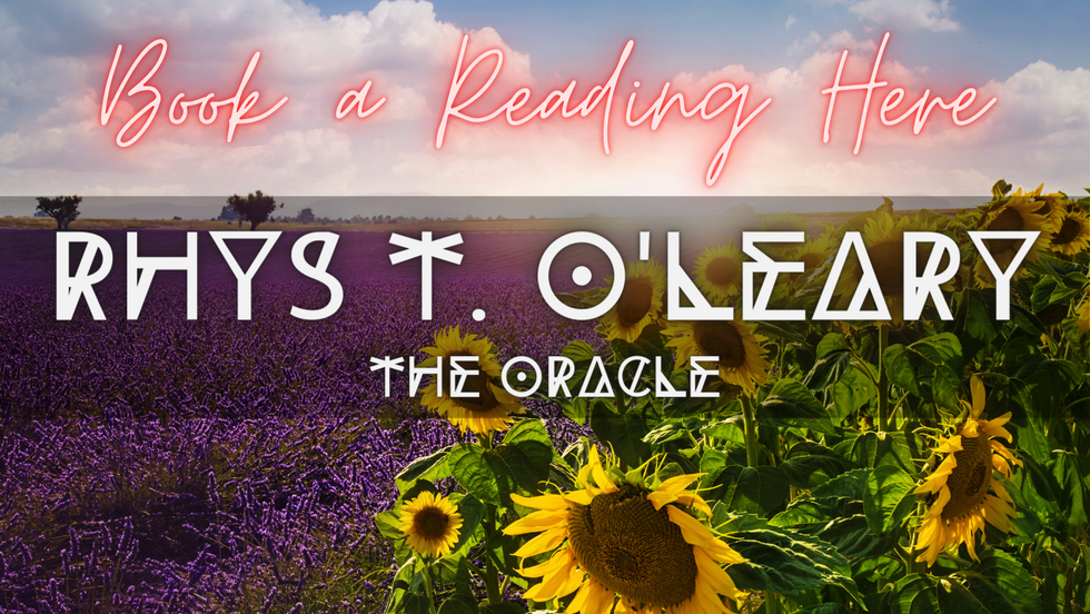 The Here and Now Oracle; Rhys T. O'Leary