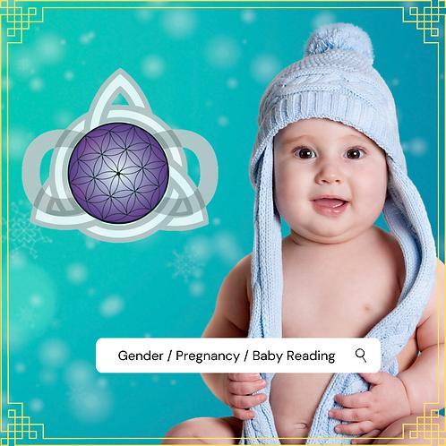 Gender / Pregnancy / Baby Reading