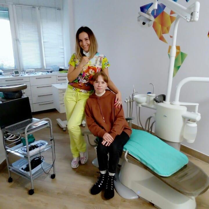 стоматолог детский лукинская
