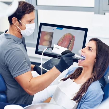 В ногу со временем. Сканер зубов вместо слепков.