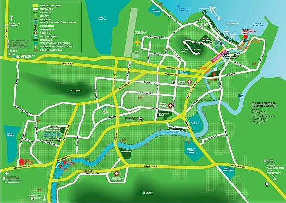 mysite Townsville Map
