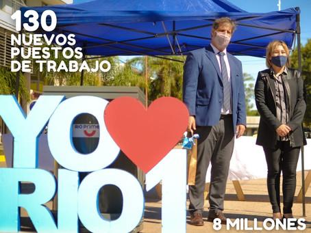 130  NUEVOS EMPLEOS JOVENES. $8.000.000 PARA LA LOCALIDAD