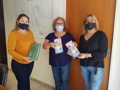 ENTREGA DE BARBIJOS EN ESTABLECIMIENTOS RURALES
