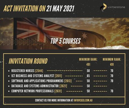 ACT Invitation on 21 May 2021